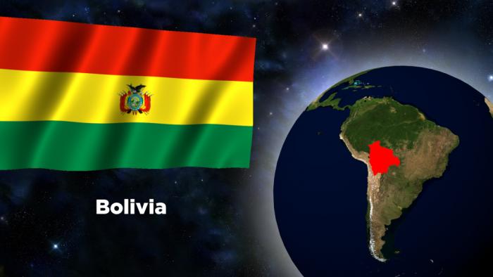 Расположение Боливии