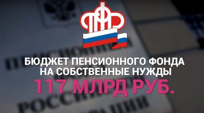 бюджет Пенсионного Фонда России