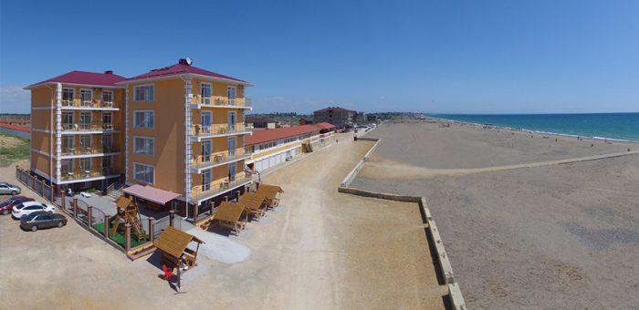 Мини-отель на крымском побережье