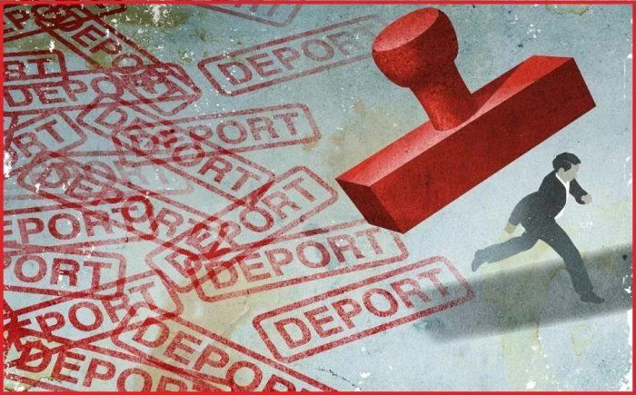 Депортация из Израиля