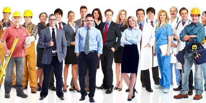 работники разных профессий