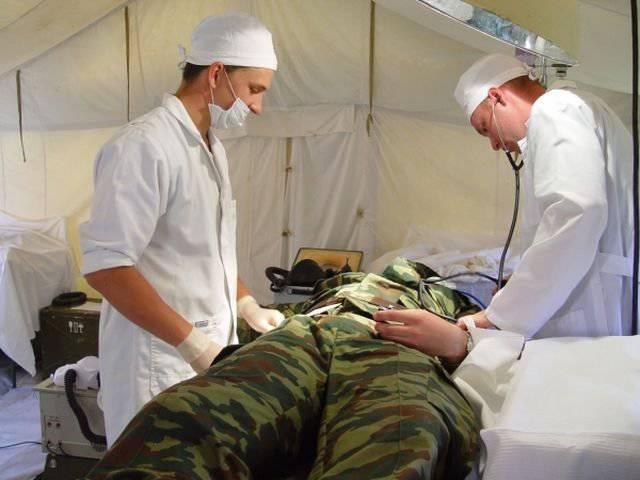 военные врачи в РФ