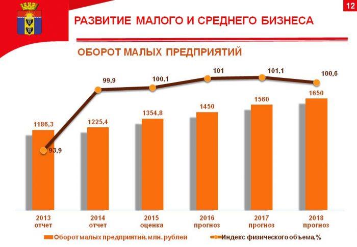 Развитие малого и среднего бизнеса в России