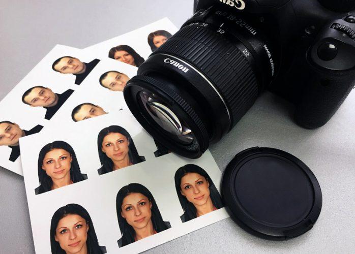Где делать фото на визу