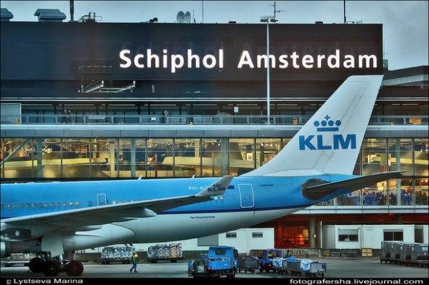 Транзитная виза при пересадке в Амстердаме
