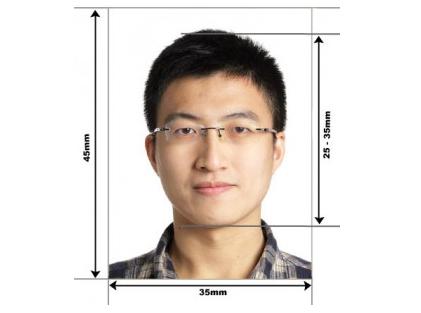 Размеры фото для визы в Сингапур