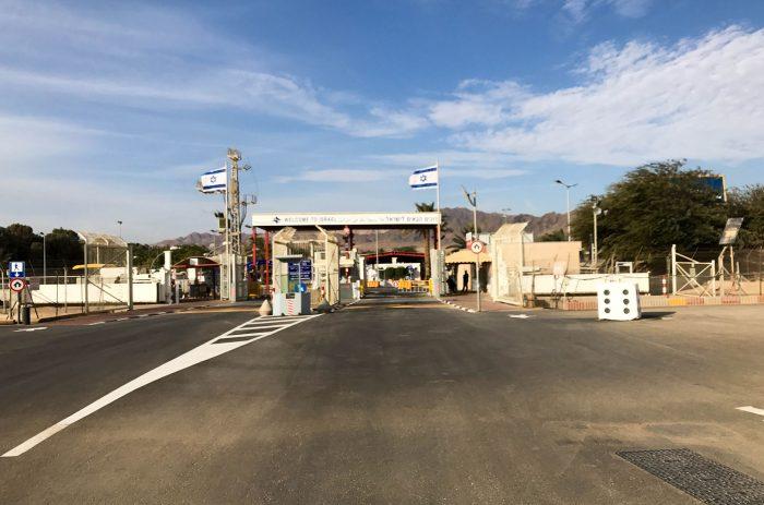КПП на границе Израиля