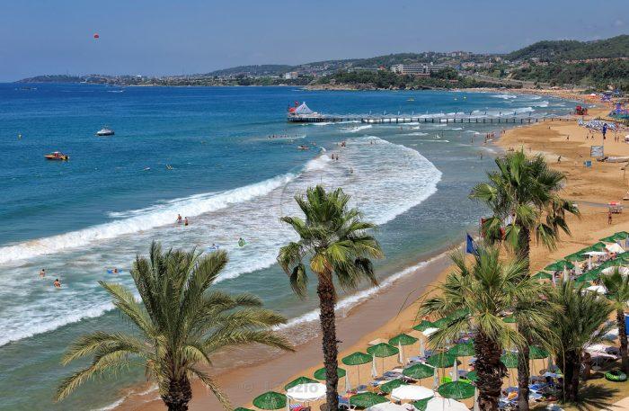 Пляж Инжекум. Аланья. Турция.