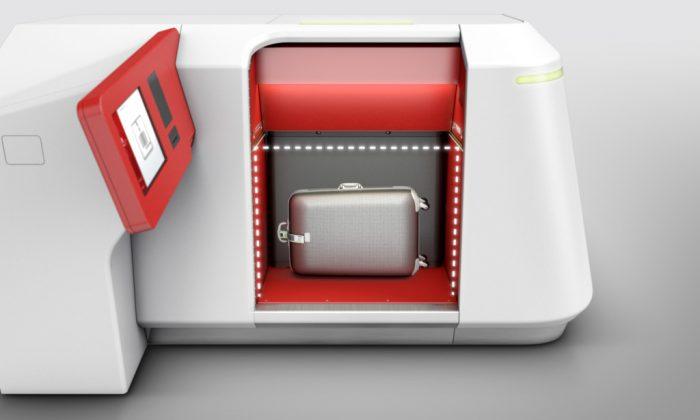 Автоматическая стойка регистрации багажа