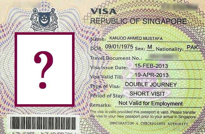 Требования, предъявляемые к фотографиям на визу в Сингапур