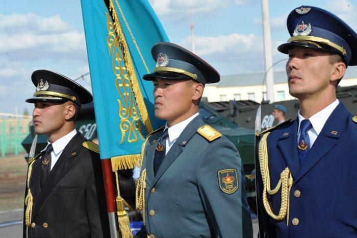 Военные пенсионеры из Казахстана