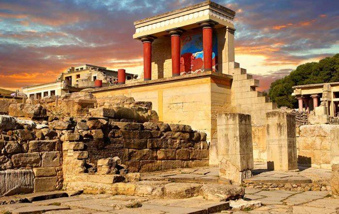 Кносский дворец. Остров Крит. Греция.