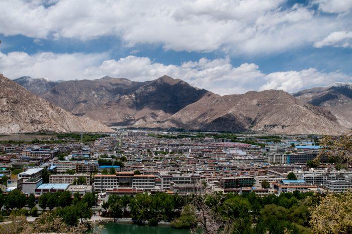 Лхаса в Тибете