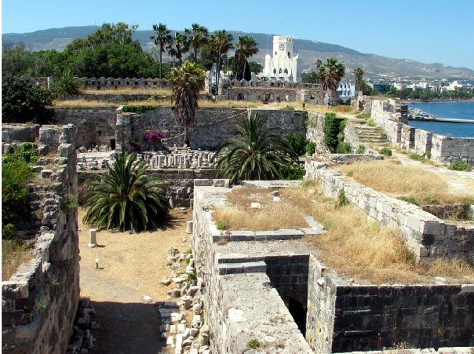 Рыцарский замок. Остров Кос. Греция.