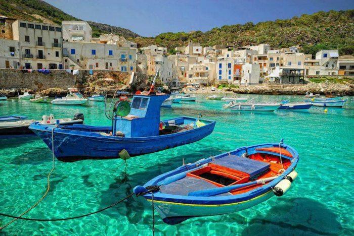Остров Сицилия. Италия.