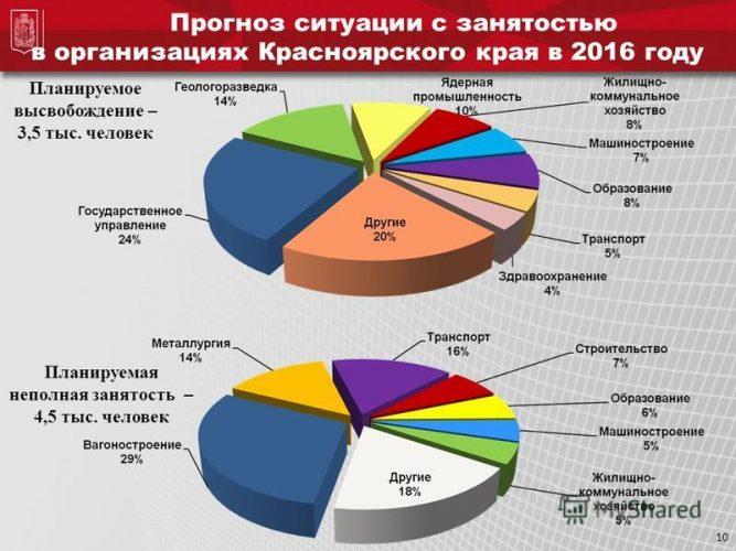 Рынок труда в Красноярском крае
