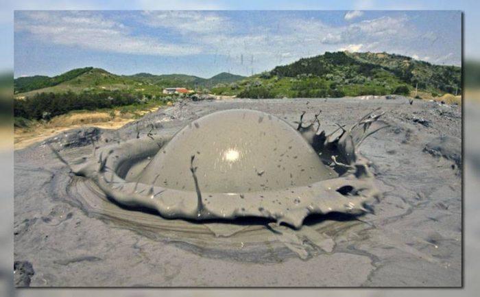 Грязевой вулкан
