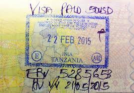 Виза по прибытию в Танзанию