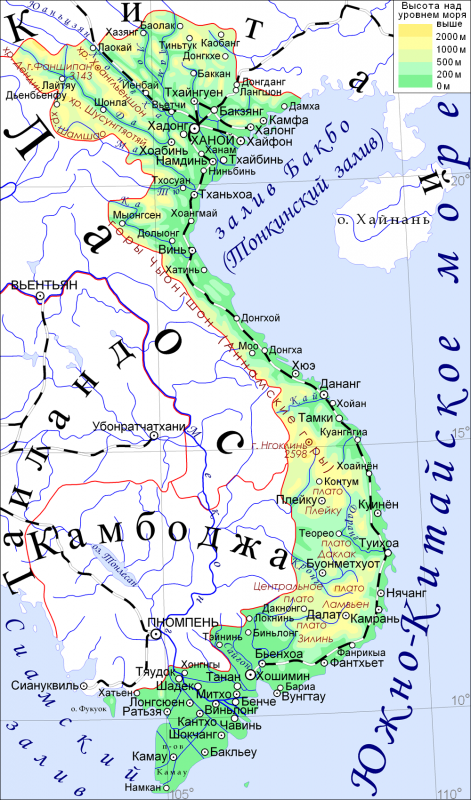 География Вьетнама