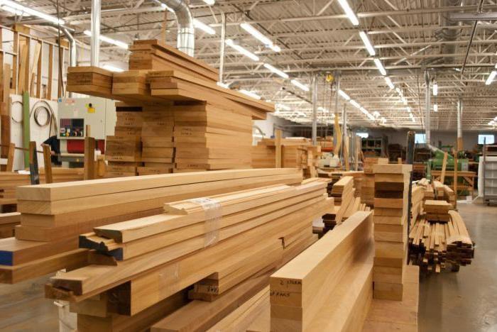 Деревообрабатывающая промышленность