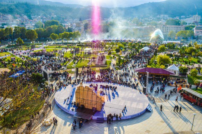 Фестиваль в Грузии
