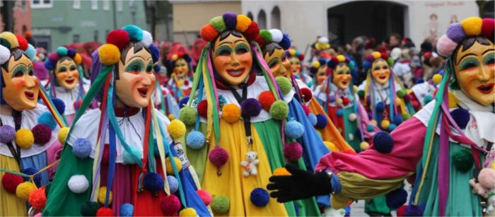 Карнавал Фашинг в Мюнхене