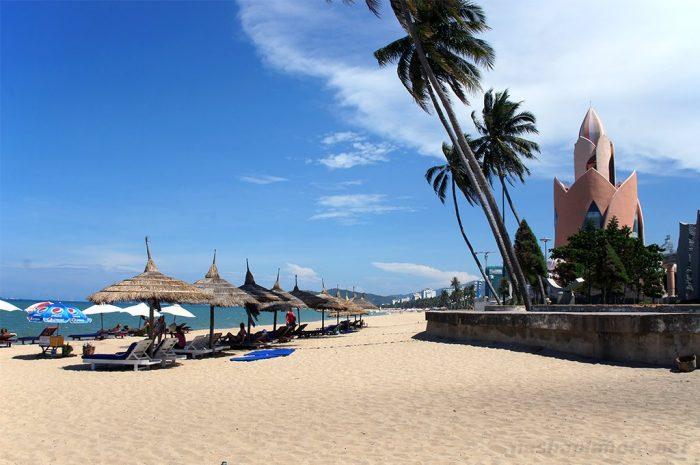 Городской пляж Нячанга, Вьетнам