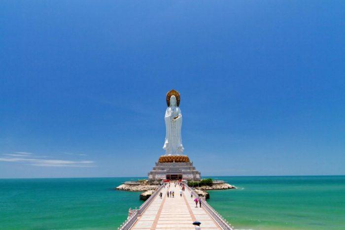 Статуя богини Гуаньинь, Хайнань