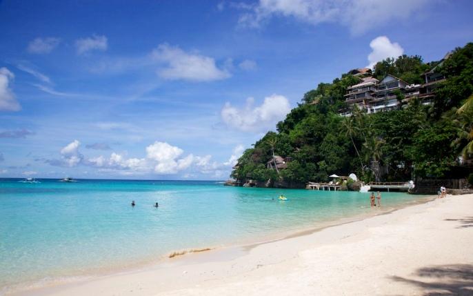 Пляж Динивид, Боракай, Филиппины.