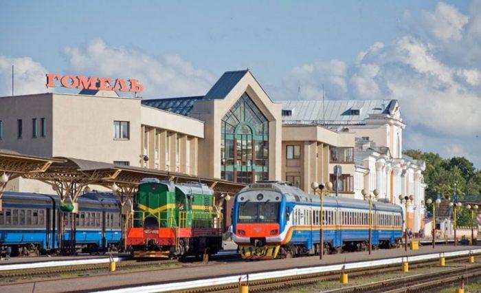 Вокзал г. Гомель, Беларусь