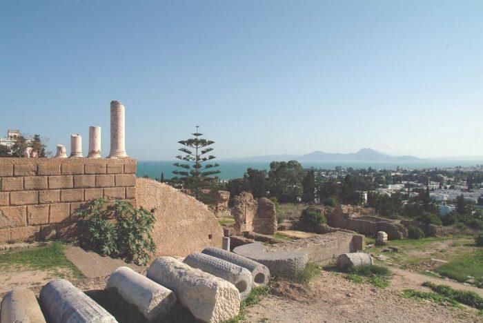 Холм Бирса, Карфаген, Тунис.