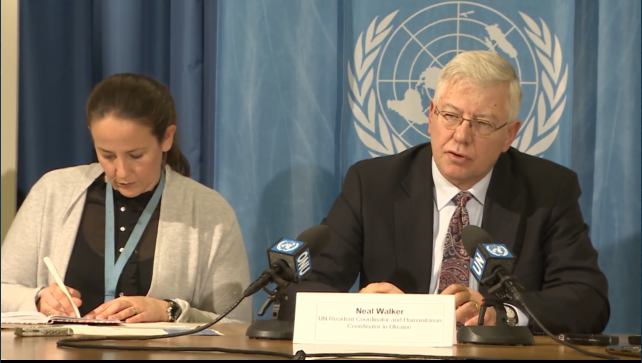 Координатор гуманитарных программ ООН Н. Уокер