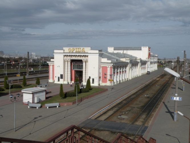 Беларусь, вокзал г. Орша