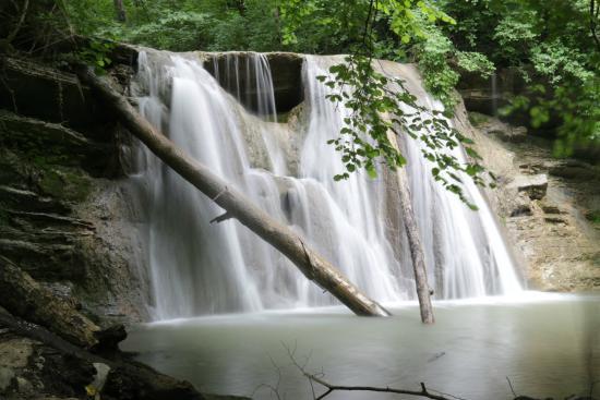 Водопады горы Шахан