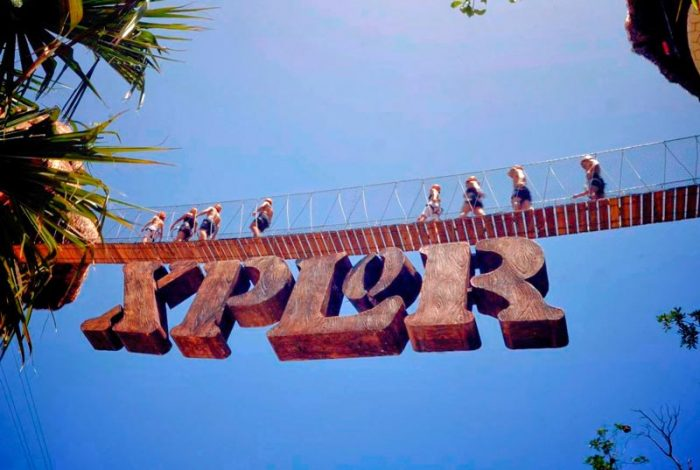 Парк Xplor в Мексике