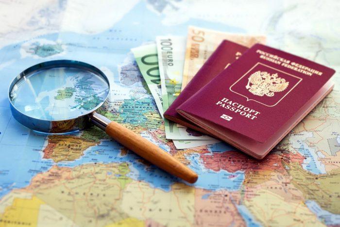 Загранпаспорт для выезда за границу