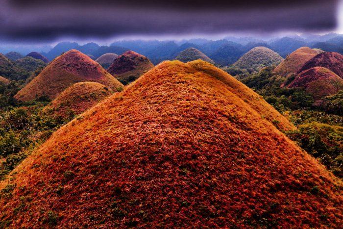 Шоколадные холмы Филиппины