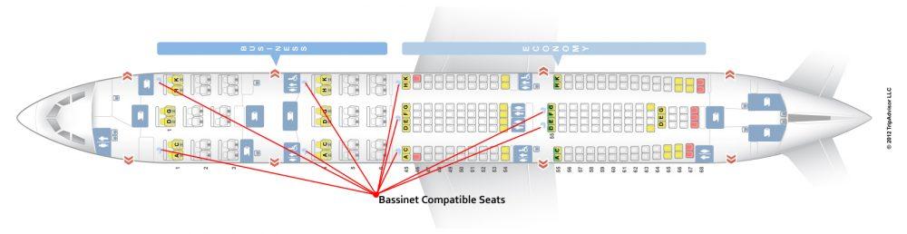 План салона самолета