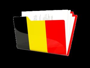 """Иконка в виде папки """"Бельгия"""""""