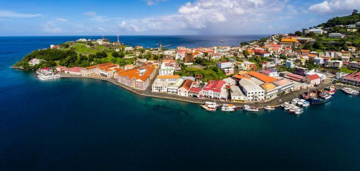 Вид на остров Гренада