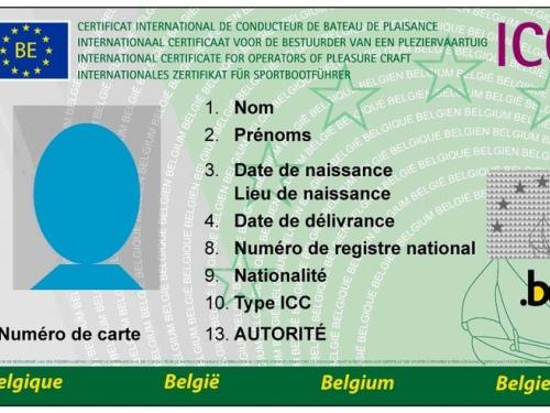 Профессиональная карта Бельгии