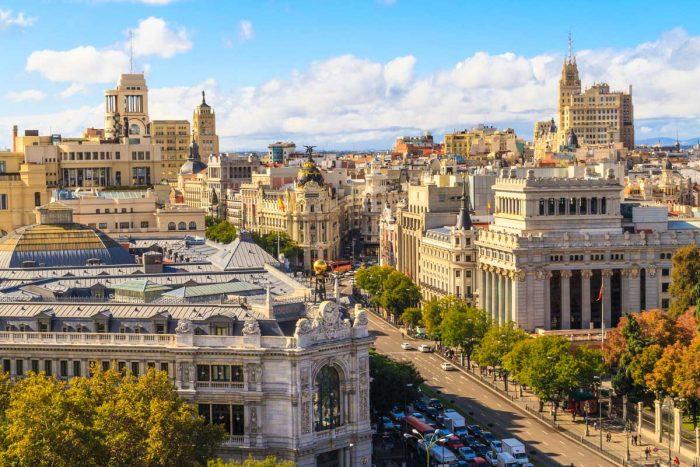 Улица Гран Виа, Мадрид