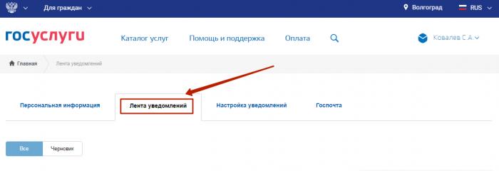 Проверка готовности загранпаспорта через сайт госуслуг