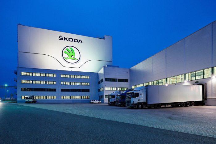 Завод Skoda в г. Млада-Болеслав (Чехия)