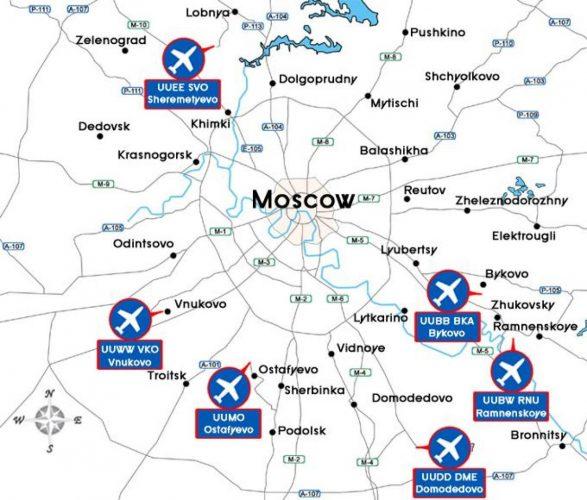 Код аэропортов Москвы MOW: расшифровка, какие аэровокзалы относятся