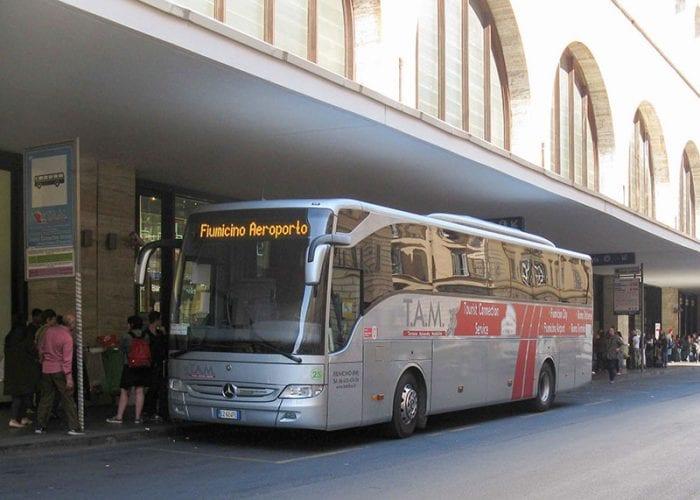 Остановка автобуса ТАМ