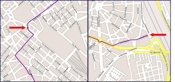 Схемы остановок автобусов COTRAL