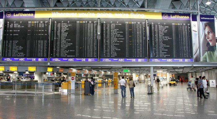 Онлайн табло вылетов в аэропорте