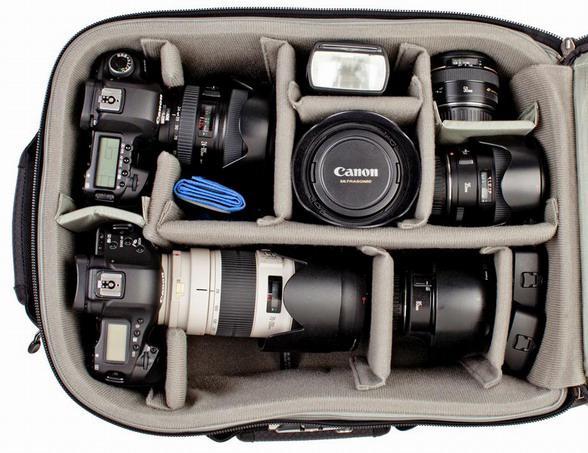 Фотоаппарат в сумке