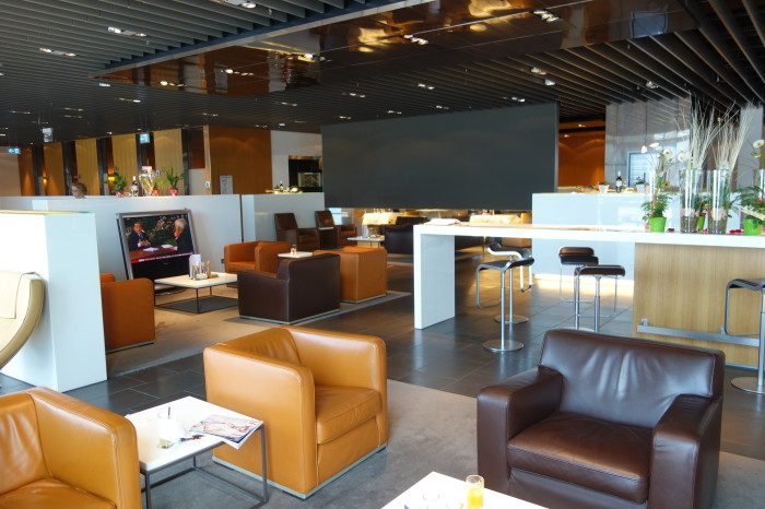 Лаунж-зона в аэропорту Франкфурта-на-Майне